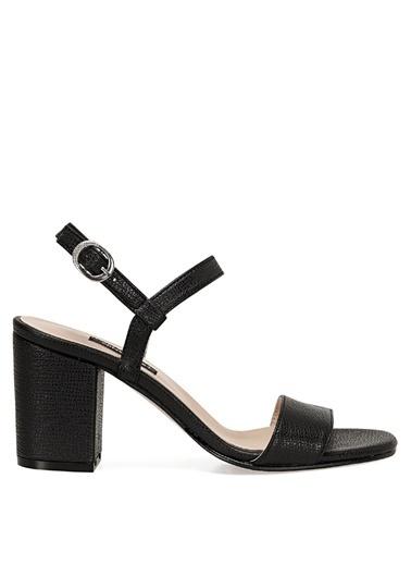 Nine West Sandalet Siyah